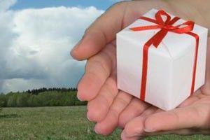 Правила оформления договора дарения земельного участка