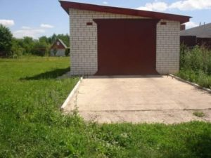 Оформление самовольно построенного гаража