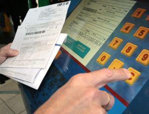 Оплата услуг ЖКХ по лицевому счету через терминал