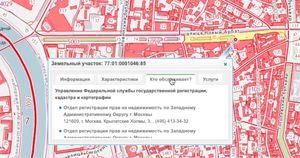 Какие сведения содержит публичная кадастровая карта