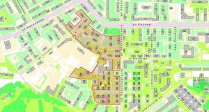 Структура ситуационного плана земельного участка