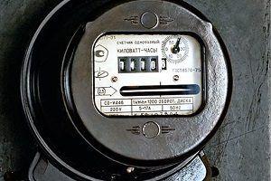 Как снять показания с однотарифного счетчика электроэнергии