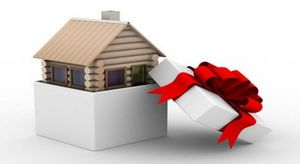 Уплата налогов по договору дарения дома с землей