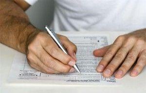 Правила оформления налоговой декларации