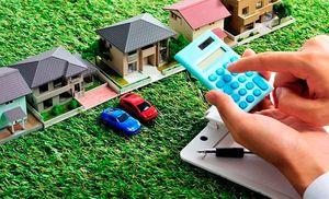 Пример стандартного расчета суммы налога на землю